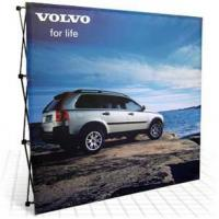 Buy cheap Fabric Pop Up Banner Stands 10ft fabric pop up banner stands from wholesalers