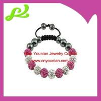 Buy cheap Pink Crystal Shamballa Bracelet from wholesalers
