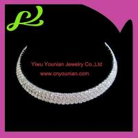 Buy cheap Crystal Bridal Jewelry Set---three lines from wholesalers