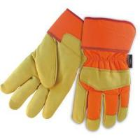 Buy cheap Leather Working Gloves Cow Grain Thinsulate Winter Gloves from wholesalers