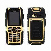 Buy cheap IP67 Waterproof GSM Quad Band Mobile Phones with Adjustable Frequency Walkie Talkie and GPS from wholesalers