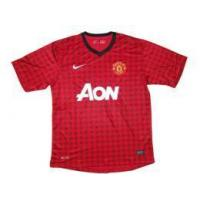 Buy cheap 2012/2013 soccer jersey Manchester united home jersey from wholesalers
