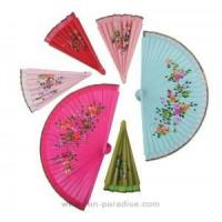 Buy cheap Hand-painted Spanish fan from wholesalers