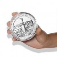 Buy cheap Silver Bullion 2011 Gettysburg 5 oz ATB Coin from wholesalers