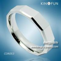 Buy cheap Cobalt Rings Kingfun 6MM Polished Bioblu 27 Cobalt Wedding Band from wholesalers