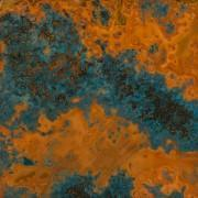 Buy cheap Azul Patina Copper Sheet - Light 36 Gauge from wholesalers