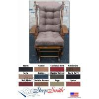 Buy cheap Glider Rocker Cushion for Candace Chair Glider Rocker Cushions Set Large Size Micro Fiber Suede from wholesalers