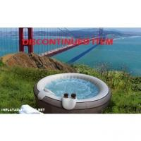 Buy cheap $500 and above MSPA B-140 Gray Leather Inflatable Hot Tub from wholesalers