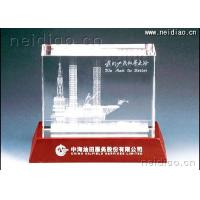 Buy cheap China Oilfield Services Limited-Unit Memorial gifts 3D Laser Crystal from wholesalers