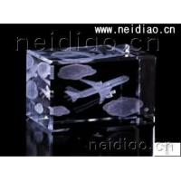 Buy cheap Aircraft-Square 3D Laser Crystal from Wholesalers