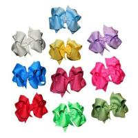 Buy cheap BIG LOT WHOLESALE Home WHOLESALE 120pcs-4 Solid Layered Boutique Chunky Hair bows from wholesalers