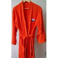 Buy cheap Logo Embroidery Cotton Velvet Bath Robe from wholesalers