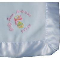 Buy cheap Embroidered Baby Gifts Personalized Baby Blanket with Design from wholesalers