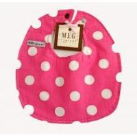 Buy cheap Hot Pink Polka Dot Preemie Bib from wholesalers