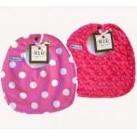 Buy cheap Hot Pink Dots Preemie Bib Set from wholesalers