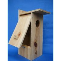 Buy cheap Birdhouse with Camera Wood duck nest box w/Hawk Eye Cam installed from wholesalers