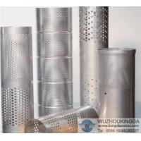 Buy cheap Perforated tube filter from wholesalers