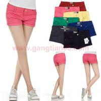Buy cheap Women Shorts [3] Hot Sell Summer Ladies Denim Colour Cloth Casual Short Jean from wholesalers