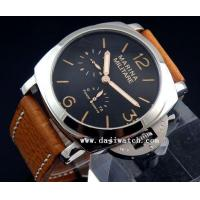 Buy cheap 47mm Marina Militare 1950 Style polished case black sandwich dail Power Reserve automatic watch from wholesalers