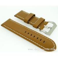 Buy cheap Strap NEW 26MM BROWN GENUINE LEATHER WATCH BAND STRAP from wholesalers