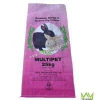Buy cheap Bopp film laminated pp woven bag animal feed bag from wholesalers