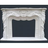 Buy cheap Natural Marble Carving Fireplace from wholesalers