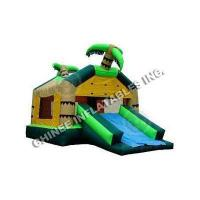 Buy cheap Bounce House Slides Coconut Trees Slide Combo T2-1004 from wholesalers