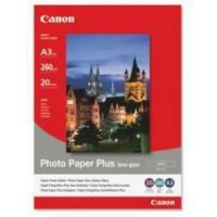 Buy cheap Canon Photo Paper Plus SG-201 - Semi-gloss photo paper - A3 (297 x 420 mm) - 260 g/m2 - 20 sheet(s) from wholesalers
