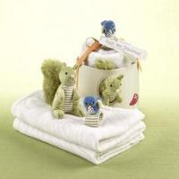 Buy cheap gifts Baby Aspen Earl the Squirrel and Forest Friends Woodland Gift Set from wholesalers