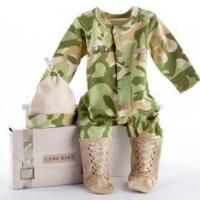 Buy cheap gifts Baby Aspen Baby Camo Two-Piece Layette Set in Backpack Gift Box from wholesalers