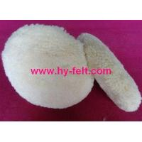 Buy cheap wool polishing pad from wholesalers