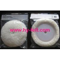 Buy cheap wool polishing bonnet from wholesalers