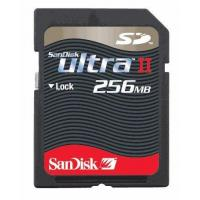 Buy cheap Mini SD Cards Sandisk 256MB 60X Secure Digital ULTRA II SD Card from wholesalers