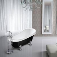 Buy cheap Soft acrylic anitque free standing bathtub from wholesalers