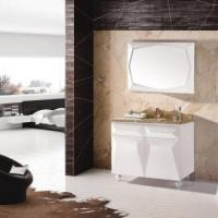Buy cheap Free standing bathroom cabinet with round legs from wholesalers