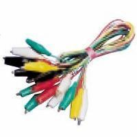Buy cheap Jumper test lead set Jumper Test Lead Set 10 Pairs 40MM Alligator Clips 100Wires 5 Colors AD-4031 from wholesalers