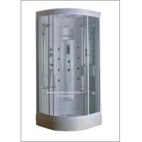 Buy cheap Aldan Deluxe Hydro Shower Cubicle with Massage Jets - 900 x 900 from wholesalers