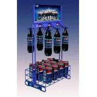 Buy cheap Steel Wire POS Metal Rack Shelves Soft Drink Display Stands / Metal Racks For Storage from wholesalers