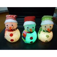Buy cheap EVA snowman light from wholesalers