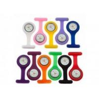Buy cheap Custom Japan movement or China movement Gel Silicone Nurse Fob Watch / 85 * 39mm from wholesalers
