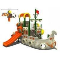 Buy cheap Custom Toddlers Anti-static Timber Wooden Train Playground Recreation Equipment from wholesalers