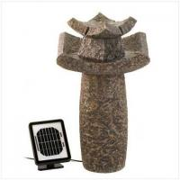 Buy cheap Temple Solar Water Fountain[12844] from wholesalers