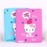 Buy cheap Customized hello kitty blue, pink color apple IPAD silicone cases, ipad 2 skins covers from wholesalers