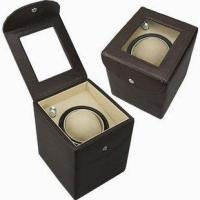 Buy cheap Genuine cow leather watch winder from wholesalers