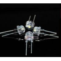 Buy cheap 0.5 Watt White Straw Hat 8mm LED from wholesalers