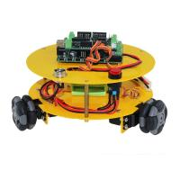 Buy cheap 3WD 48mm Omni Wheel Arduino compatible Robotics car 10014 from wholesalers
