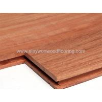 Buy cheap Unfinished Solid Kempas Wood Flooring from wholesalers