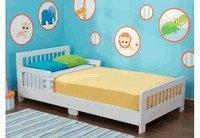 Buy cheap KidKraft Slatted Toddler Bed White KK86922 from wholesalers