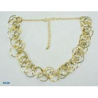 Buy cheap 2012 fashion Jewelry Display Trays Chain Mixed Metal Necklace for women from wholesalers