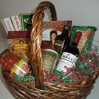 Buy cheap Custom Gift Basket Ideas Italian Dinner Night Basket Italian Dinner Night Basket from wholesalers